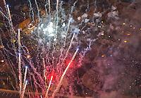 July 4th fireworks, Pueblo, Colorado