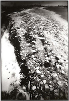 Ice flow on the Hudson river<br />