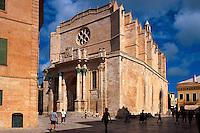 Spanien, Menorca, Kathedrale in Ciutadella