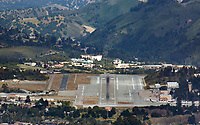 aerial photograph of the Monterey Regional Airport (MRY), Monterey, California
