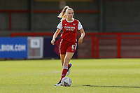 Leah Williamson of Arsenal during Brighton & Hove Albion Women vs Arsenal Women, Barclays FA Women's Super League Football at Broadfield Stadium on 11th October 2020