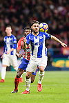 Ruben Duarte of Deportivo Alaves in action during the La Liga 2017-18 match between Atletico de Madrid and Deportivo Alaves at Wanda Metropolitano Stadium on 16 December 2017 in Madrid, Spain. Photo by Diego Souto / Power Sport Images