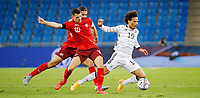 6th August 2020, Basel, Switzerland. UEFA National League football, Switzerland versus Germany;  Granit Xhaka,sui fouls Leroy Sane ger
