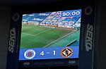 21.02.2021 Rangers v Dundee Utd: Full time score