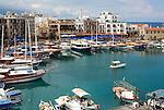 CYPRUS, North cyprus (turkish), Keryneia (Girne): small seaport at north-coast with mediterranean flair | ZYPERN, Nord-Zypern (tuerkisch), Keryneia (Girne): Hafenstadt an der Nordkueste mit mediterranem Flair