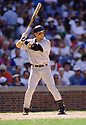 CIRCA 1997: Craig Biggio #7 of the Houston Astros at bat during a game from his 1997 season against the Chicago Cubs. Craig Biggio played for 20 years, all with the Houston Astros, was a 7-time All-Star and was elected to the Baseball Hall of Fame in 2015.(Photo by: 1997 SportPics)  *** Local Caption *** Craig Biggio
