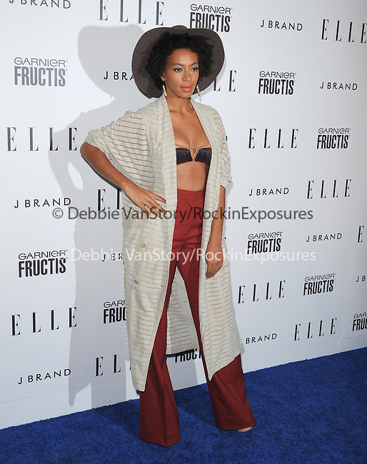 Solange Knowles at The ELLE Women in Music Event held at The Music Box in Hollywood, California on April 11,2011                                                                               © 2010 Hollywood Press Agency