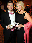 William Sorabella and Jennifer Gans at the Pink Tie Gala at the InterContinental Hotel Saturday March 6,2010. (Dave Rossman Photo)