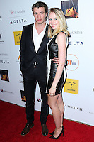 SANTA MONICA, CA, USA - OCTOBER 26: Thomas Cocquerel, Emily Cocquerel arrive at the 3rd Annual Australians in Film Awards Benefit Gala held at the Starlight Ballroom at Fairmont Miramar Hotel & Bungalows on October 26, 2014 in Santa Monica, California, United States. (Photo by Xavier Collin/Celebrity Monitor)