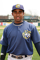 April 11 2010: Deivy Batista of the Burlington Bees. The Bees are the Low A affiliate of the Kansas City Royals. Photo by: Chris Proctor/Four Seam Images