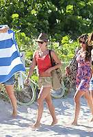 APRIL 28 2013.Julianne Hough shows off her stunning bikini body as she larks around with Nina Dobrev in Miami.Non Exclusive.Mandatory Credit: OHPIX.COM..Ref: OH_SOL