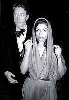 1978 FILE PHOTO<br /> New York City<br /> Halston Bianca Jagger at Studio 54<br /> Photo by Adam Scull-PHOTOlink.net