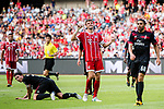 Bayern Munich Forward Thomas Muller (C) reacts during the 2017 International Champions Cup China  match between FC Bayern and AC Milan at Universiade Sports Centre Stadium on July 22, 2017 in Shenzhen, China. Photo by Marcio Rodrigo Machado / Power Sport Images