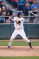 Conner Hale (39) of the Everett Aquasox at bat during a game against the Vancouver Canadians at Everett Memorial Stadium in Everett, Washington on July 16, 2015.  Vancouver defeated Everett 5-4. (Ronnie Allen/Four Seam Images)