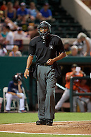 Umpire Jose Navas during the Florida State League All-Star Game on June 17, 2017 at Joker Marchant Stadium in Lakeland, Florida.  FSL North All-Stars defeated the FSL South All-Stars  5-2.  (Mike Janes/Four Seam Images)