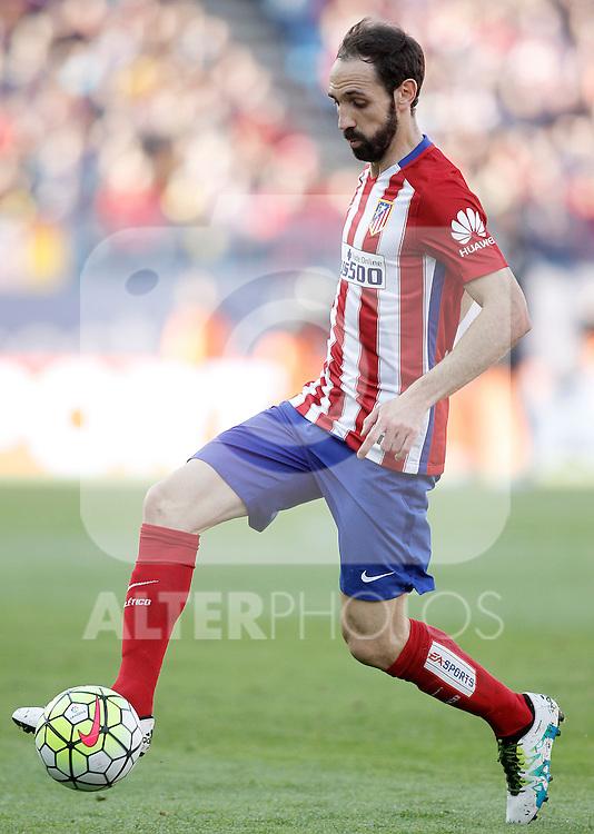 Atletico de Madrid's Juanfran Torres during La Liga match. April 23,2016. (ALTERPHOTOS/Acero)