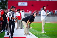 Mike Adams head football coach of Farmington against Springdale at Cardinals Stadium, Farmington, Arkansas on Friday, September 11, 2020 / Special to NWA Democrat-Gazette/ David Beacha