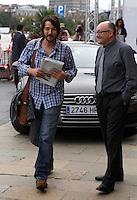 Actor Diego Luna arrives to Maria Cristina Hotel to attend the 61 San Sebastian Film Festival, in San Sebastian, Spain. September 20, 2013. (ALTERPHOTOS/Victor Blanco) /NortePhoto
