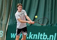 Wateringen, The Netherlands, March 9, 2018,  De Rijenhof , NOJK 12/16 years, Guy den Ouden (NED)<br /> Photo: www.tennisimages.com/Henk Koster