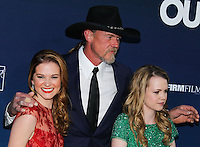 """HOLLYWOOD, LOS ANGELES, CA, USA - APRIL 29: Sarah Drew, Trace Adkins, Abbie Cobb at the Los Angeles Premiere Of TriStar Pictures' """"Mom's Night Out"""" held at the TCL Chinese Theatre IMAX on April 29, 2014 in Hollywood, Los Angeles, California, United States. (Photo by Xavier Collin/Celebrity Monitor)"""