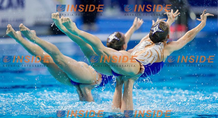 RUS - Russian Federation<br /> CHIGIREVA Vlada KOLESNICHENKO Svetlana<br /> PATSKEVICH Aleksandra PROKOFYEVA Elena<br /> SHISHKINA Alla SHUROCHKINA Maria<br /> TIMANINA Anzhelika TOPILINA Gelena<br /> Team Free Final<br /> Day8 10/07/2015<br /> XVI FINA World Championships Aquatics<br /> Synchro<br /> Kazan Tatarstan RUS July 24 - Aug. 9 2015 <br /> Photo Pasquale Mesiano/Deepbluemedia/Insidefoto
