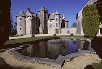 Europe/France/Auverne/63/Puy-de-Dôme/Env. d'Orcival: Le Château de Cordes