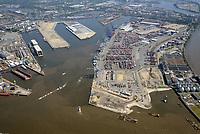 Hafenausbau Tollerortspitze und Hamburg Cruise Center: EUROPA, DEUTSCHLAND, HAMBURG 05.06.2015 Hafenausbau Tollerortspitze und Hamburg Cruise Center