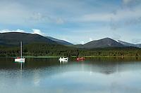 The Cairngorms from Loch Morlich, Cairngorm National Park, Badenoch & Speyside