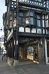 Chester Cheshire UK. Mr Simms Old Sweet Shop in th Northgate Street. Mr Simms Olde Sweet Shoppe.