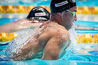 Adam Peaty of United Kingdom in act at men's 50m breastroke final during 18th Fina World Championships Gwangju 2019 at Nambu University Municipal Aquatics Centre, Gwangju, on 24  July 2019, Korea.  Photo by : Ike Li / Prezz Images