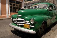 Cuba, Oldtimer in Cienfuegos