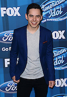 David Archuleta @ the American Idol Farewell Season finale held @ the Dolby Theatre.<br /> April 7, 2016