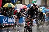 Sonny Colbrelli (ITA/Bahrain-Merida)<br /> <br /> Elite Men Road Race from Leeds to Harrogate (shortened to 262km)<br /> 2019 UCI Road World Championships Yorkshire (GBR)<br /> <br /> ©kramon