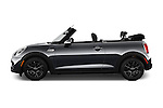Car Driver side profile view of a 2016 MINI MINI Cooper-S-Fwd 2 Door Convertible Side View