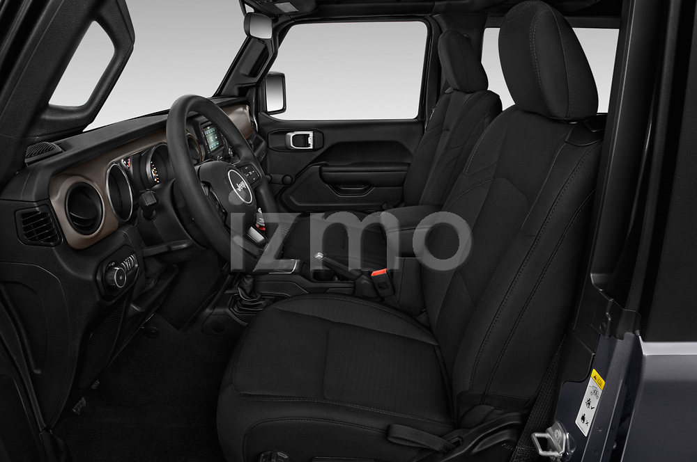 Front seat view of 2020 JEEP Wrangler Sport 3 Door SUV Front Seat  car photos