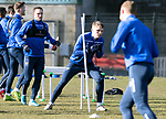 St Johnstone Training…….03.03.20<br />Jason Kerr pictured during training this morning at McDiarmid Park ahead of tomorrow night's game at St Mirren.<br />Picture by Graeme Hart.<br />Copyright Perthshire Picture Agency<br />Tel: 01738 623350  Mobile: 07990 594431