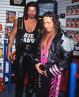 Diesel Bret Hart  1994                                 Photo By John Barrett/PHOTOlink