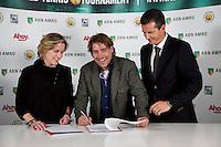 02-10-12, Netherlands,Rotterdam, Ahoy, Tennis meets Business.