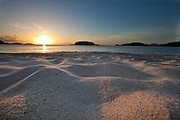 Sunset from Cinnamon Bay<br /> Virgin Islands National Park<br /> St. John<br /> U.S. Virgin Islands
