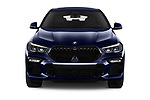 Car photography straight front view of a 2020 BMW X6 Base 5 Door SUV