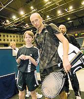 11-3-09,Rotterdam,ABNAMROWTT, Davidenko met fan