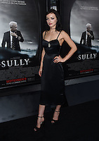 Francesca Eastwood @ the Los Angeles special screening of 'Sully' held @ the DGA theatre. September 8, 2016