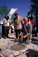 Montreal. CANADA -   May 17, 1992  File Photo -<br /> <br /> Jean Dore, Montreal Mayor and the Mayors of other Montreal cities from France attend the 350th anniversary of Montreal city<br /> <br /> File Photo : Agence Quebec Pressse - Pierre Roussel