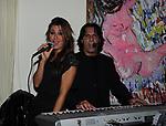 DANIELA MARTANI E DJ ALFONSO RUSSO<br /> PARTY DI PAOLO PAZZAGLIA<br /> PALAZZO FERRAJOLI ROMA 2010