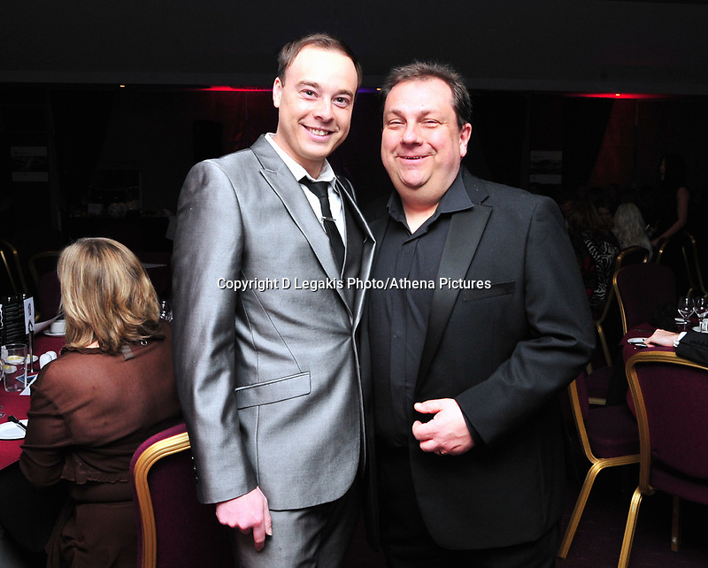 Pictured: Wednesday 10 April 2013<br /> Re: Swansea footballer Angel Rangel and wife Nicky's cancer charity fundraising dinner at the Liberty Stadium.<br /> Kevin Johns