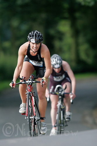08 JUL 2007 - WAKEFIELD, GBR - Jacqui Slack - British Age Group Triathlon Championships. (PHOTO (C) NIGEL FARROW)