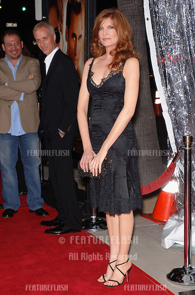 Actress RENE RUSSO at the world premiere, in Beverly Hills, of her new movie Two For The Money..September 26, 2005  Beverly Hills, CA..© 2005 Paul Smith / Featureflash
