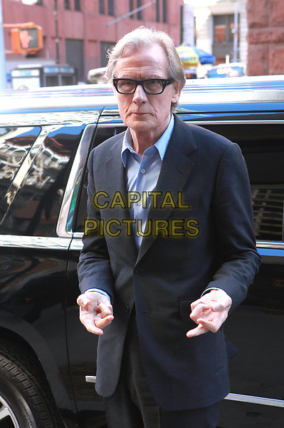 NEW YORK, NY - MARCH 23:  Bill Nighy seen on March 23, 2017 in New York City. <br /> CAP/MPI/DIE<br /> ©DIE/MPI/Capital Pictures