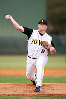 February 22, 2009:  Wes Freie (8) of the University of Iowa during the Big East-Big Ten Challenge at Naimoli Complex in St. Petersburg, FL.  Photo by:  Mike Janes/Four Seam Images