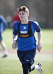 Lewis Macleod back at training